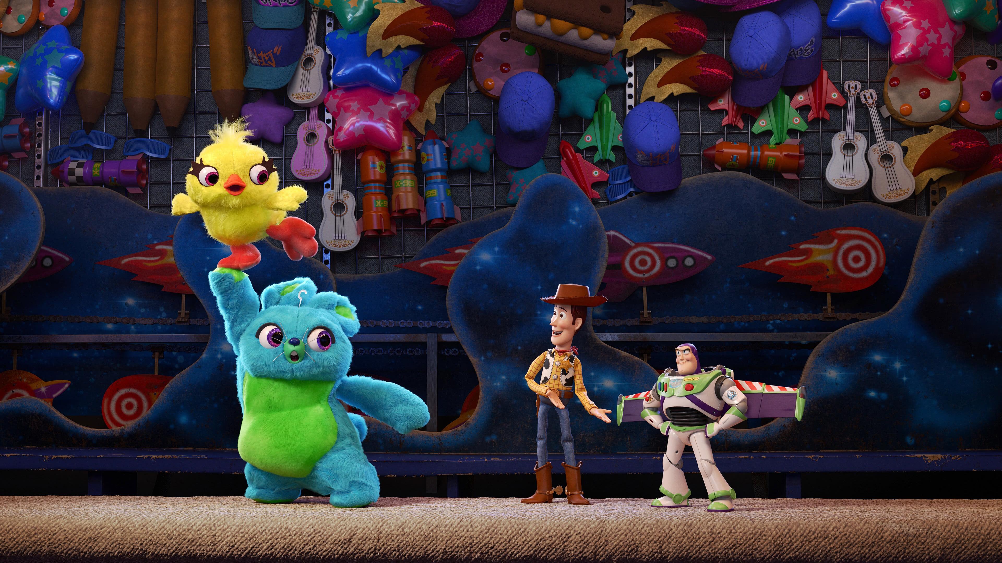 Toy Story 4 Duke Kaboom Woody Buzz Lightyear Uhd 4k