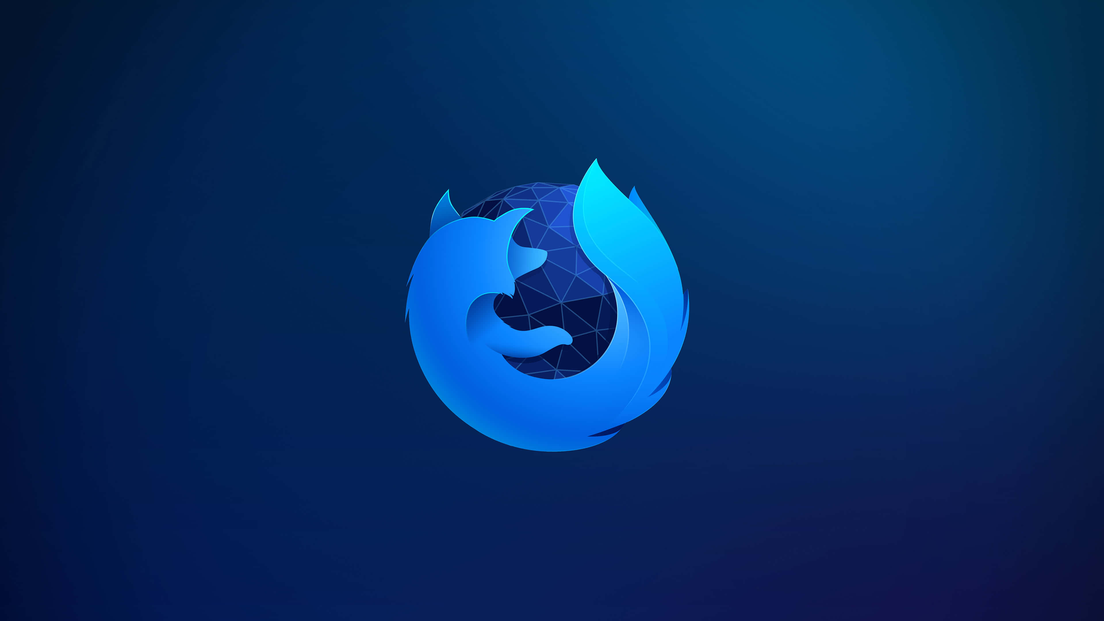 Firefox logo blue uhd 4k wallpaper pixelz - Ultra 4k background images ...