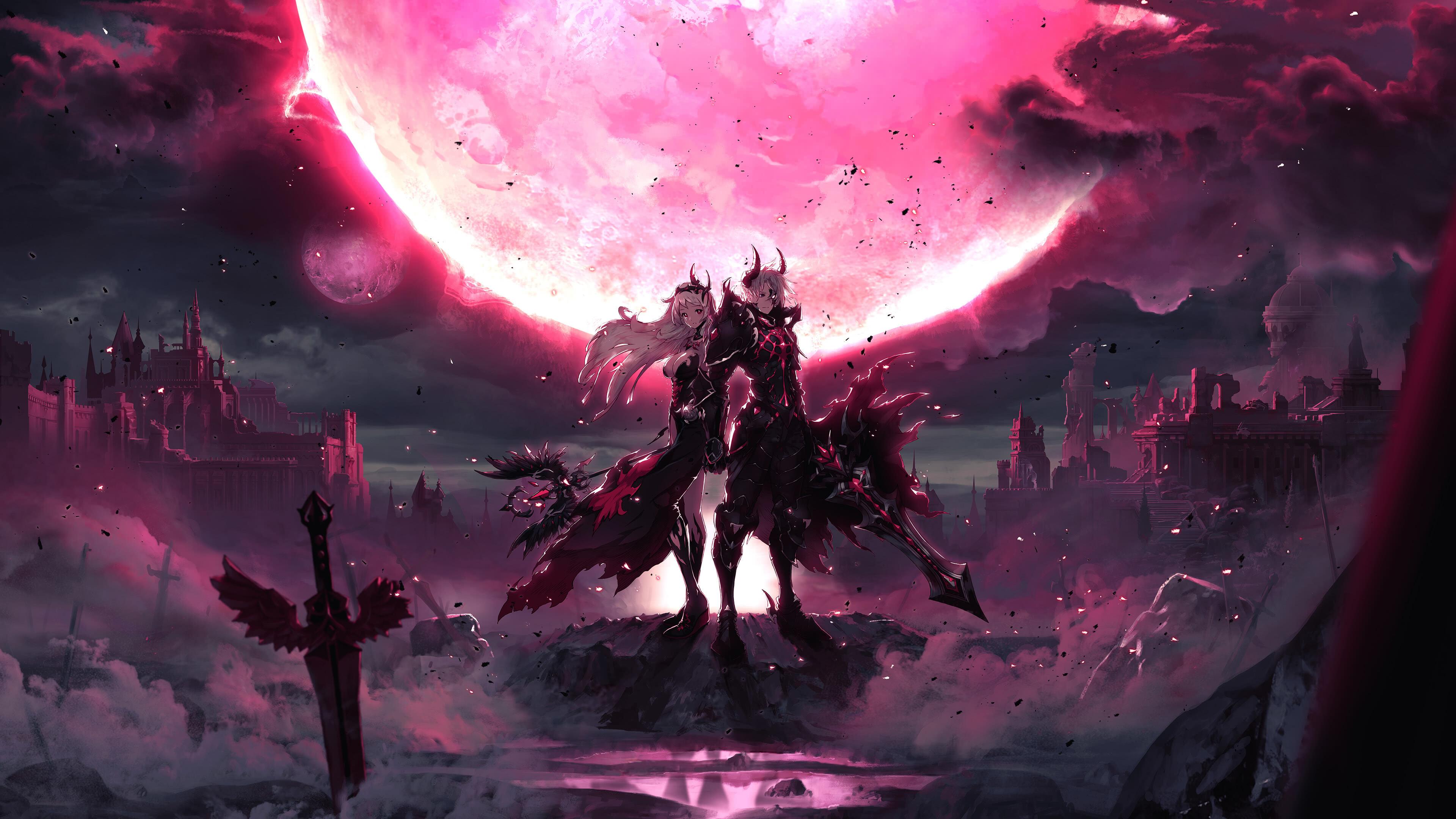 Kings Raid Pandemoniumx Uhd 4k Wallpaper Pixelz