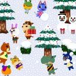 animal crossing winter uhd 4k wallpaper