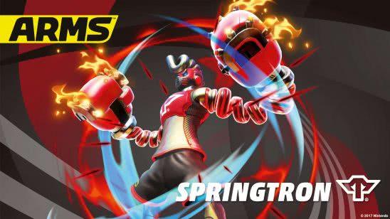 arms springtron uhd 4k wallpaper