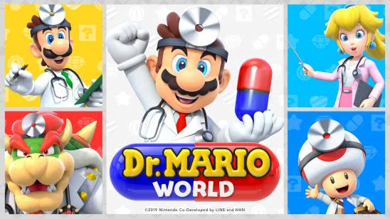 dr mario world uhd 4k wallpaper