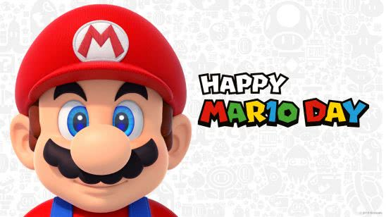 happy mario day uhd 4k wallpaper
