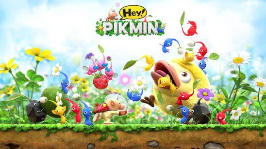 hey pikmin characters uhd 4k wallpaper