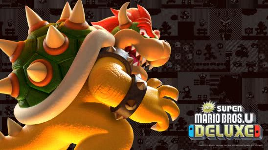 new super mario bros u deluxe bowser uhd 4k wallpaper