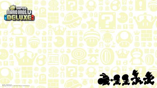new super mario bros u deluxe silhouette uhd 4k wallpaper