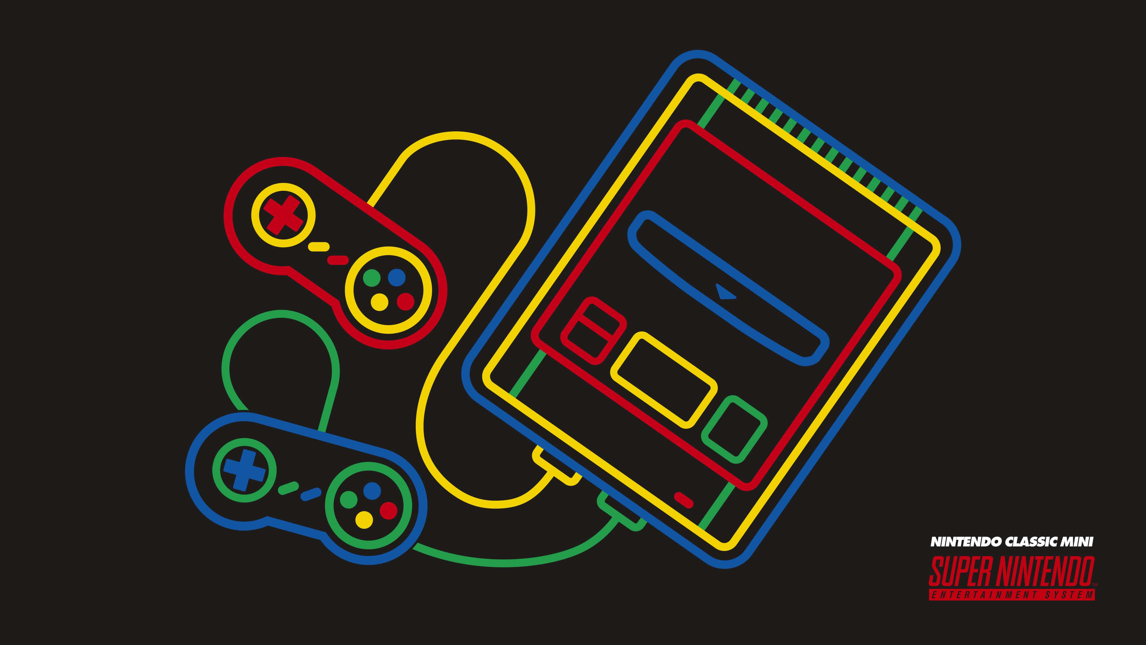 Nintendo Classic Mini Uhd 4k Wallpaper Pixelz