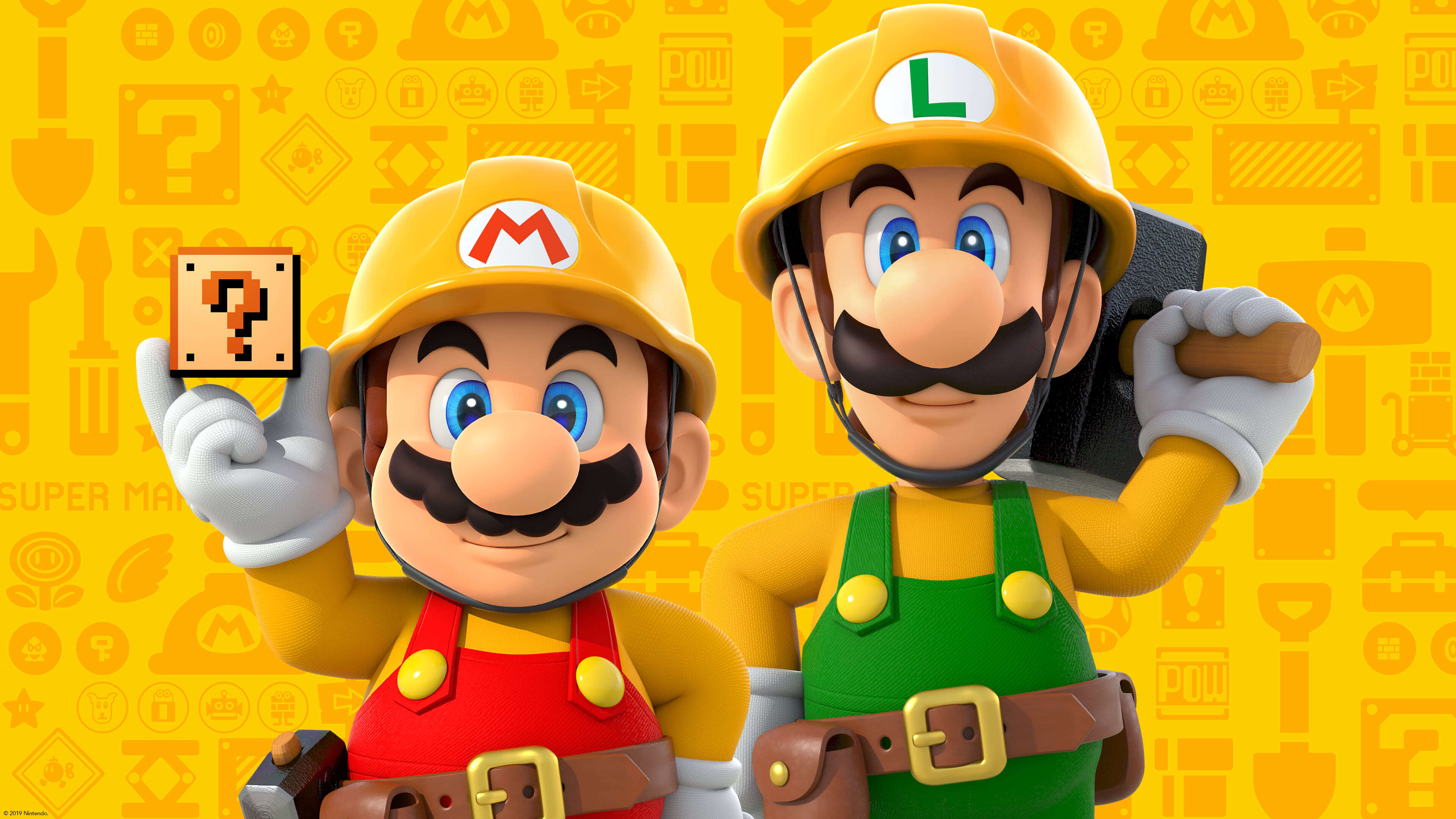 Super Mario Maker 2 UHD 4K Wallpaper | Pixelz