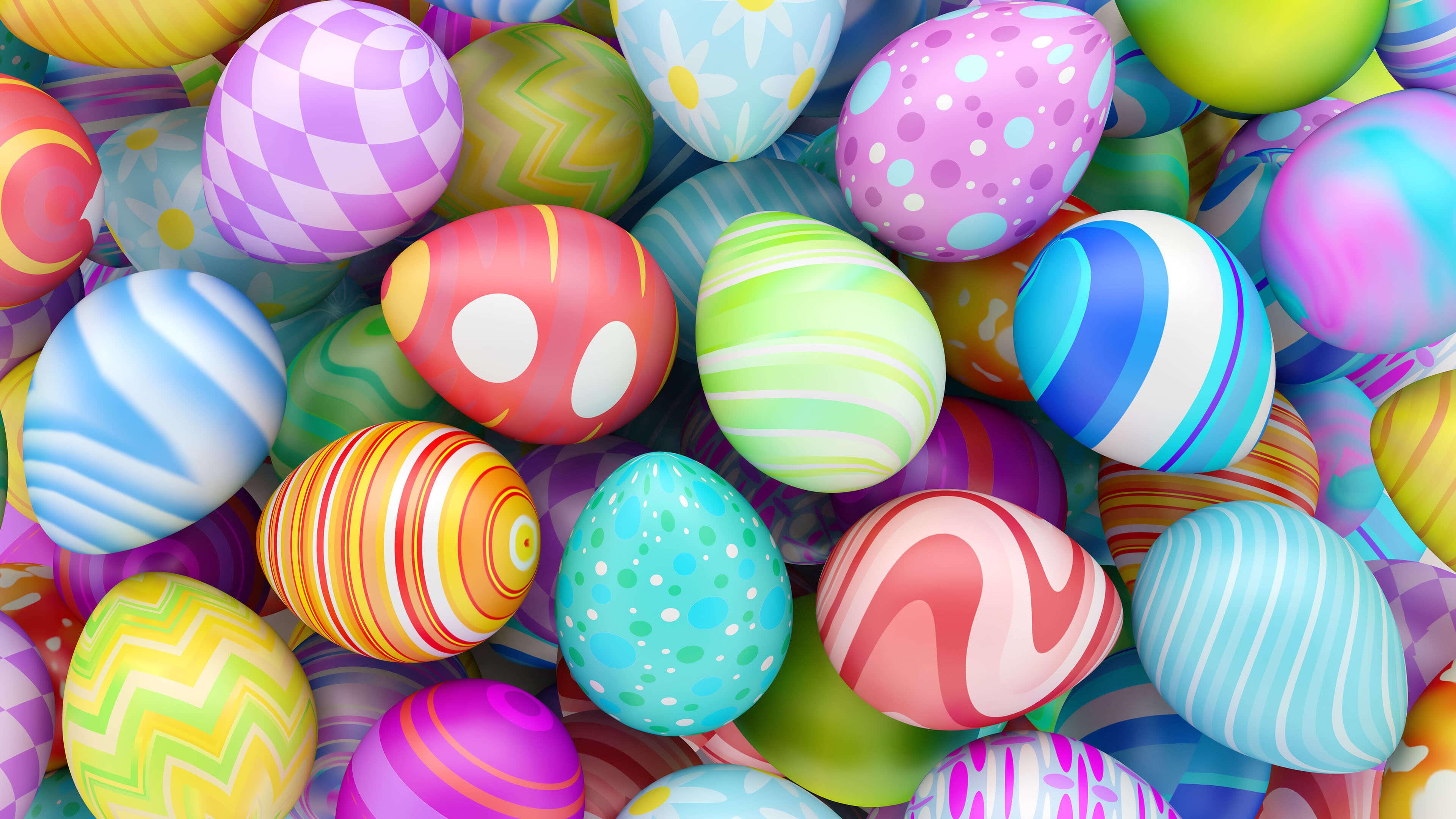 easter eggs uhd 4k wallpaper