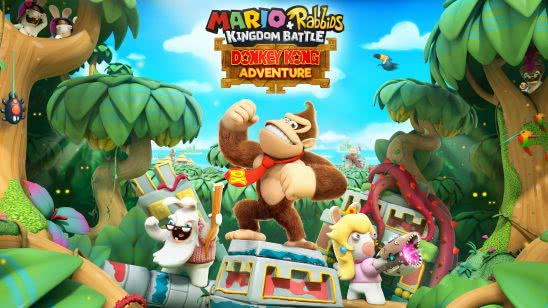 mario rabbids kingdom battle donkey kong adventure uhd 4k wallpaper