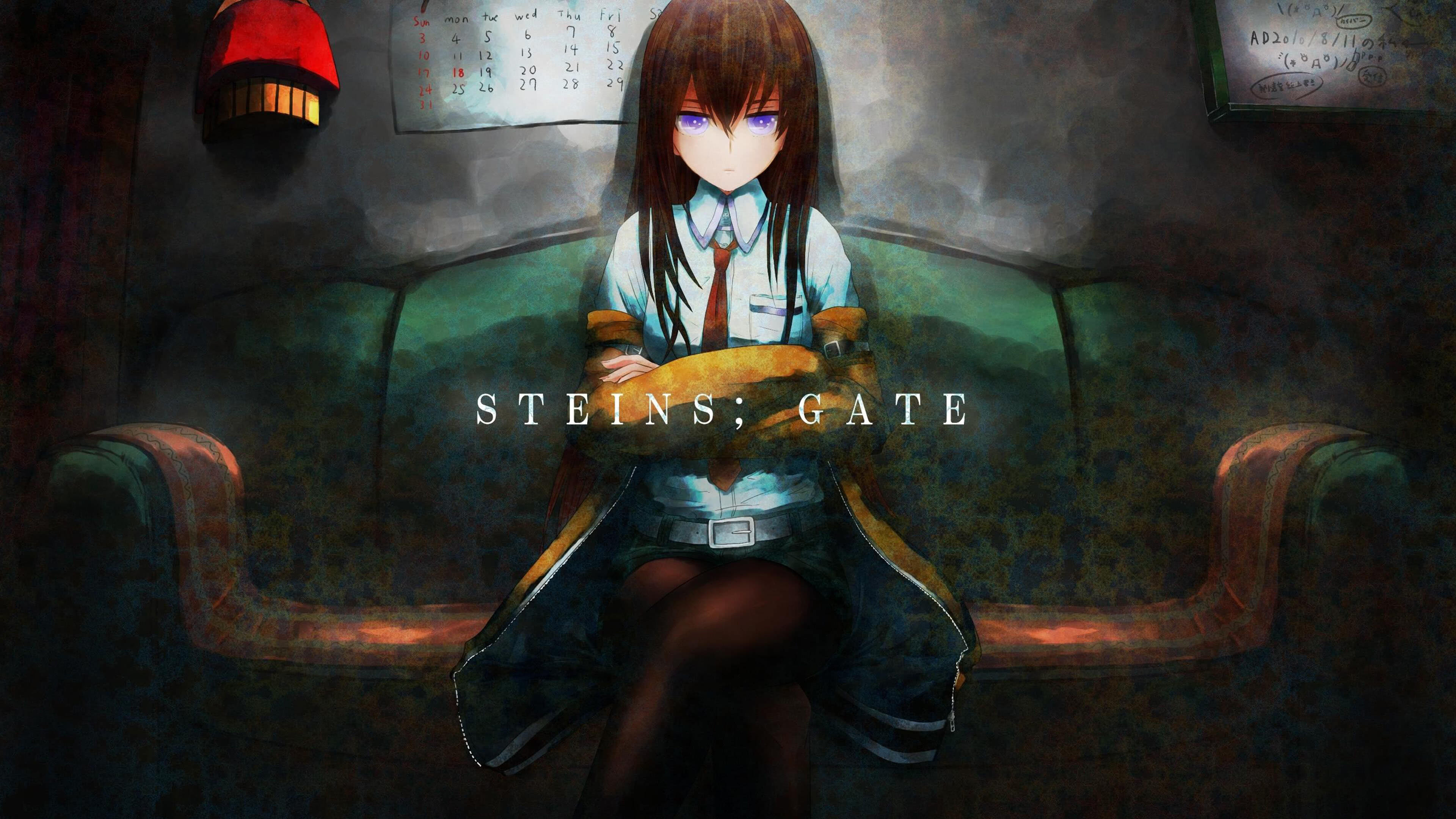 Steins Gate Elite Makise Kurisu UHD 4K Wallpaper | Pixelz