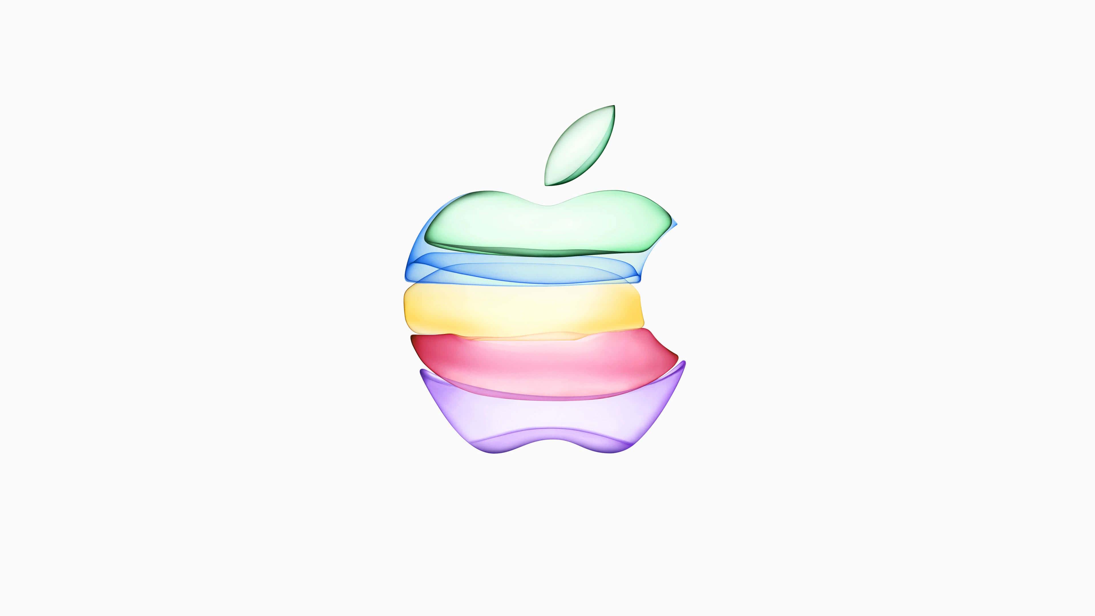 apple 2019 logo uhd 4k wallpaper