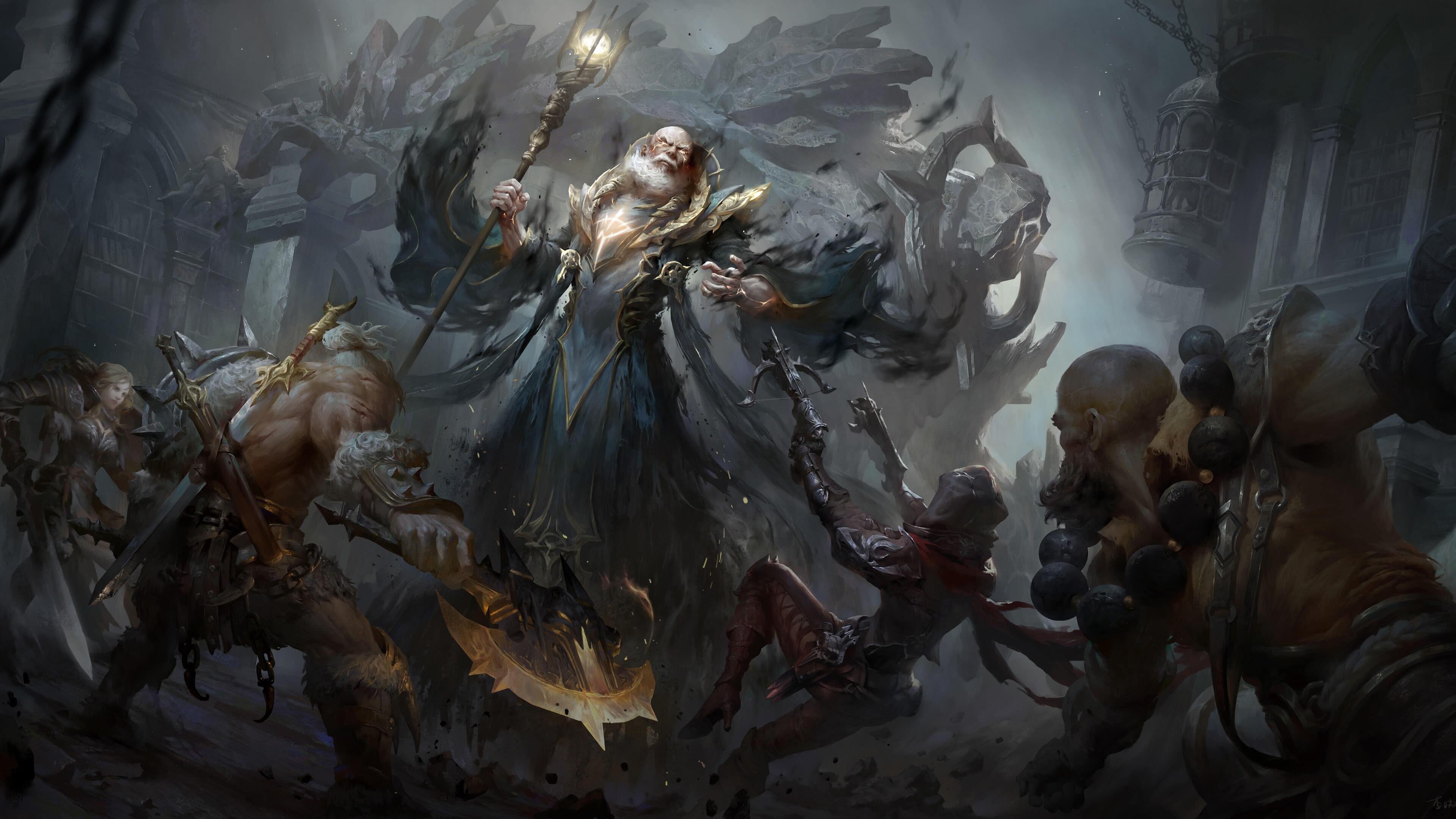 Diablo Immortal Zoltun Kulle UHD 4K Wallpaper | Pixelz