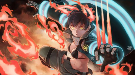 fire force tamaki kotatsu uhd 4k wallpaper