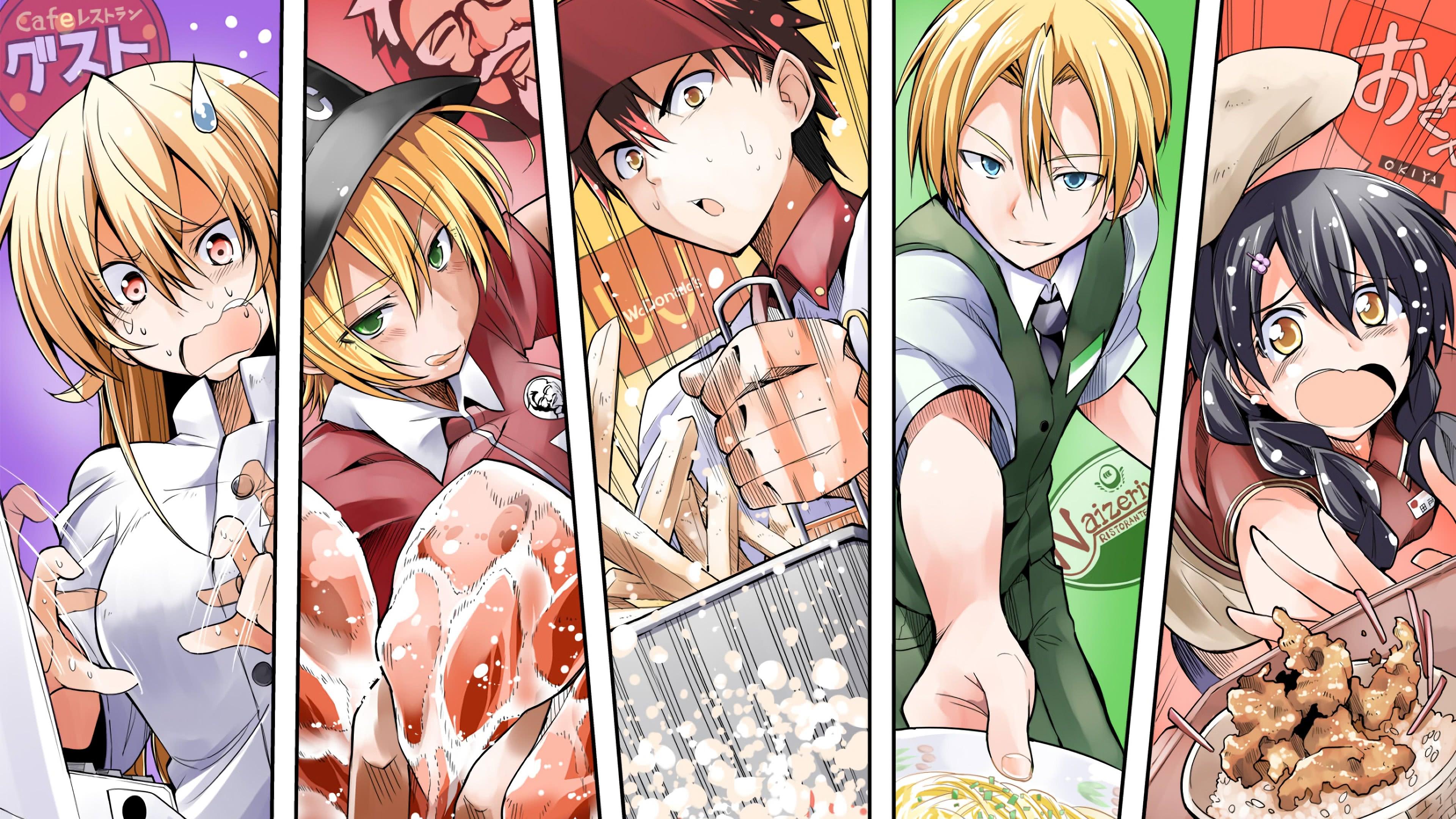 Food Wars Ikumi food wars shokugeki no soma erina nakiri ikumi mito uhd 4k