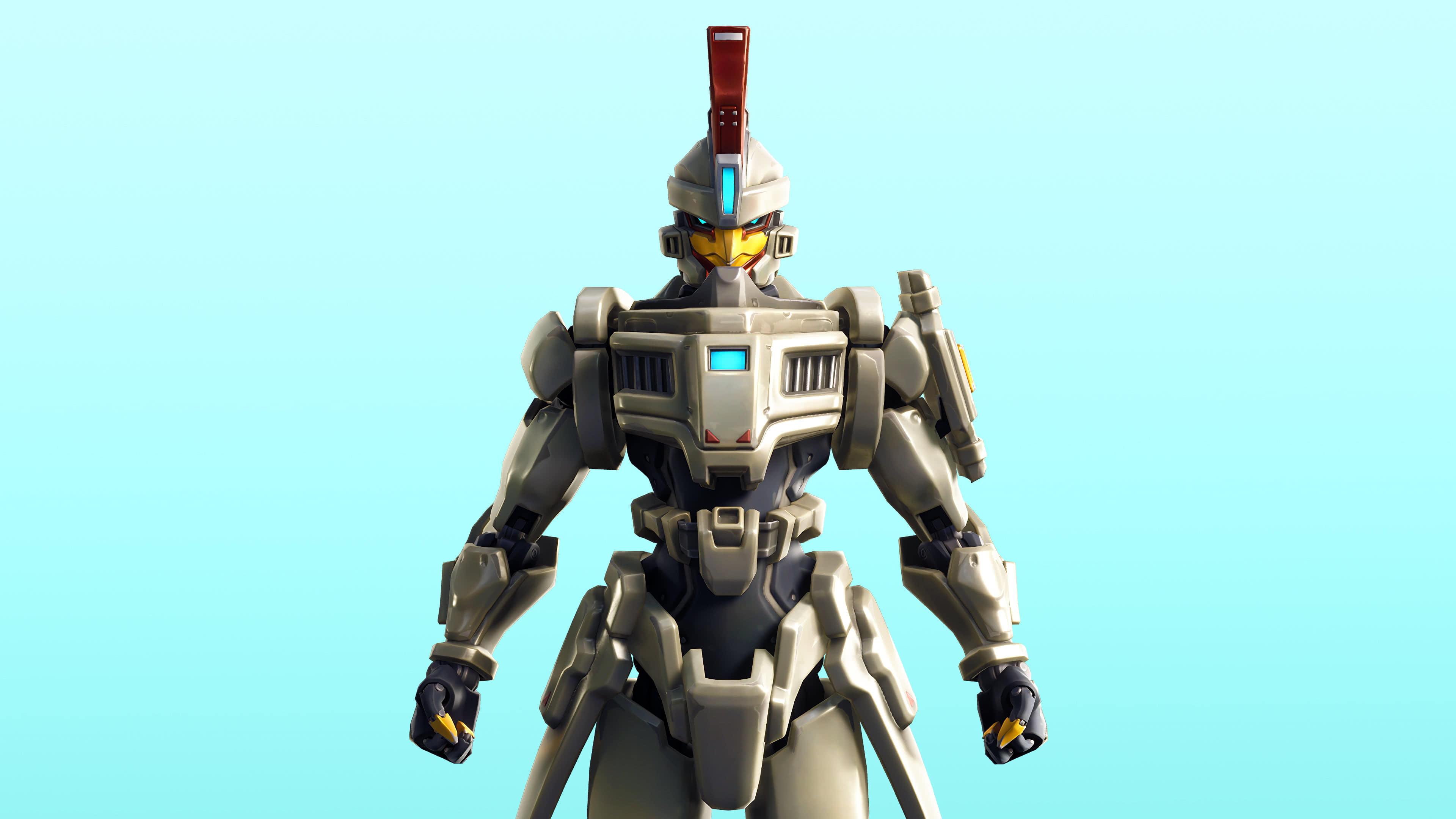 fortnite battle dynamics set sentinel skin outfit uhd 4k wallpaper