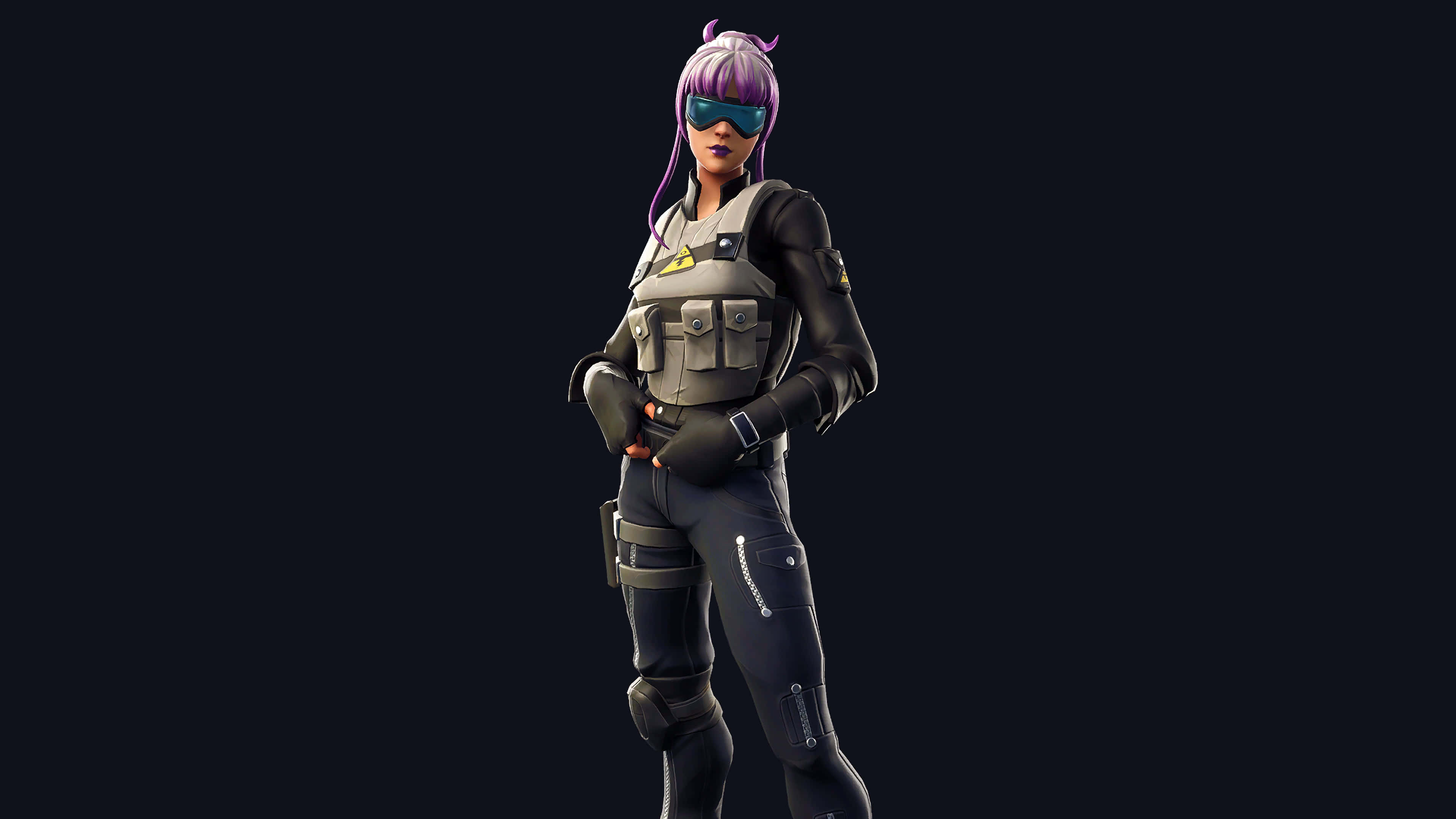 fortnite bracer skin outfit uhd 4k wallpaper
