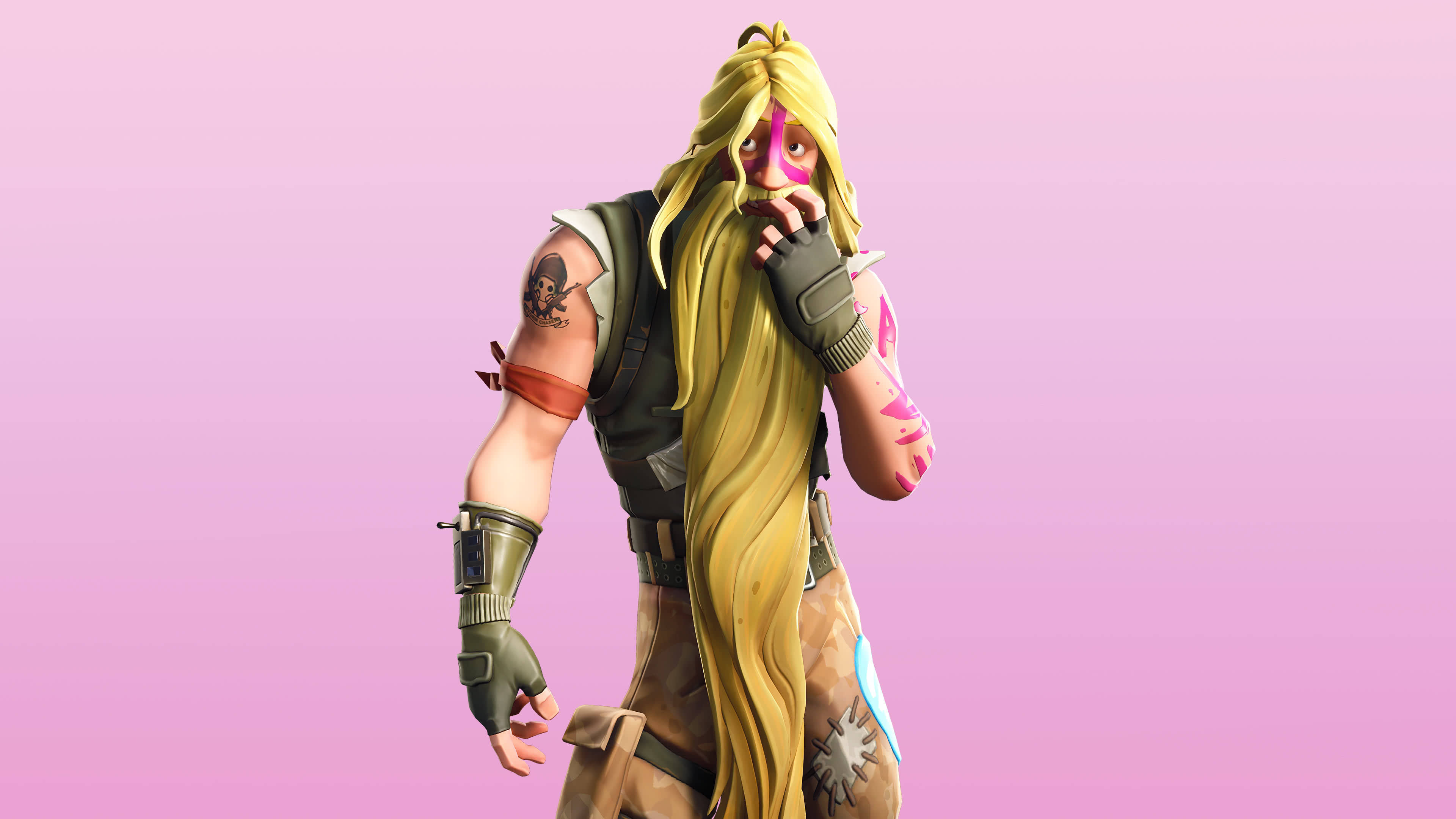 fortnite bunker days set bunker jonesy skin outfit uhd 4k wallpaper