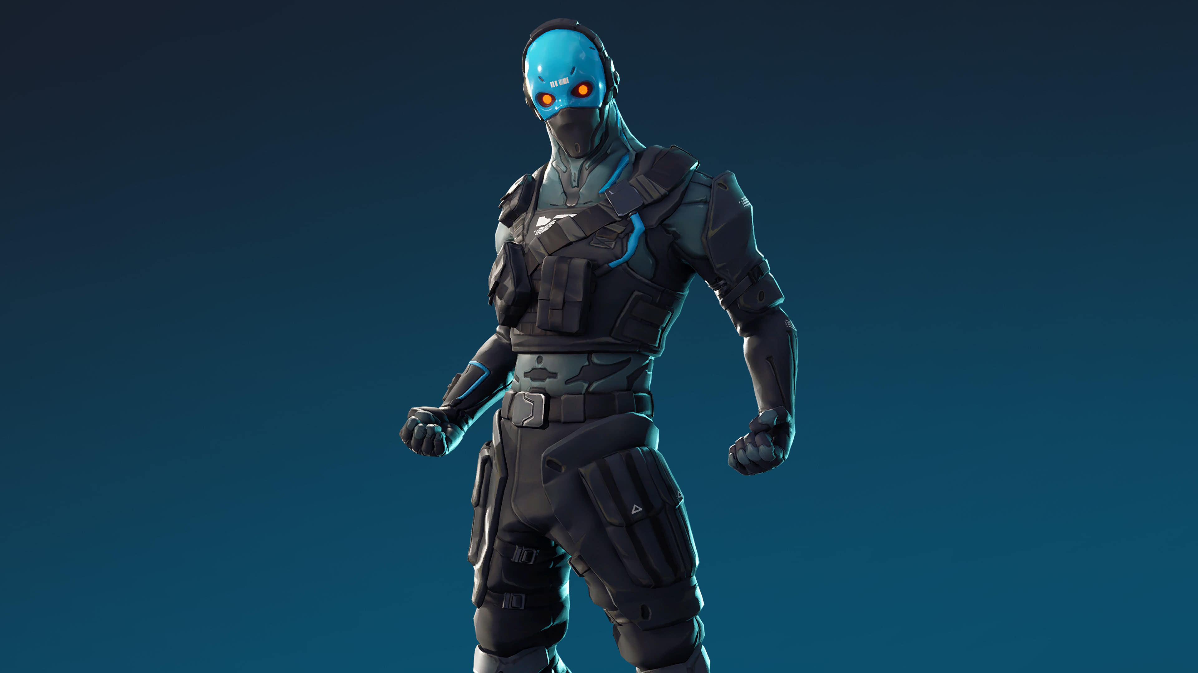fortnite cobalt skin outfit uhd 4k wallpaper