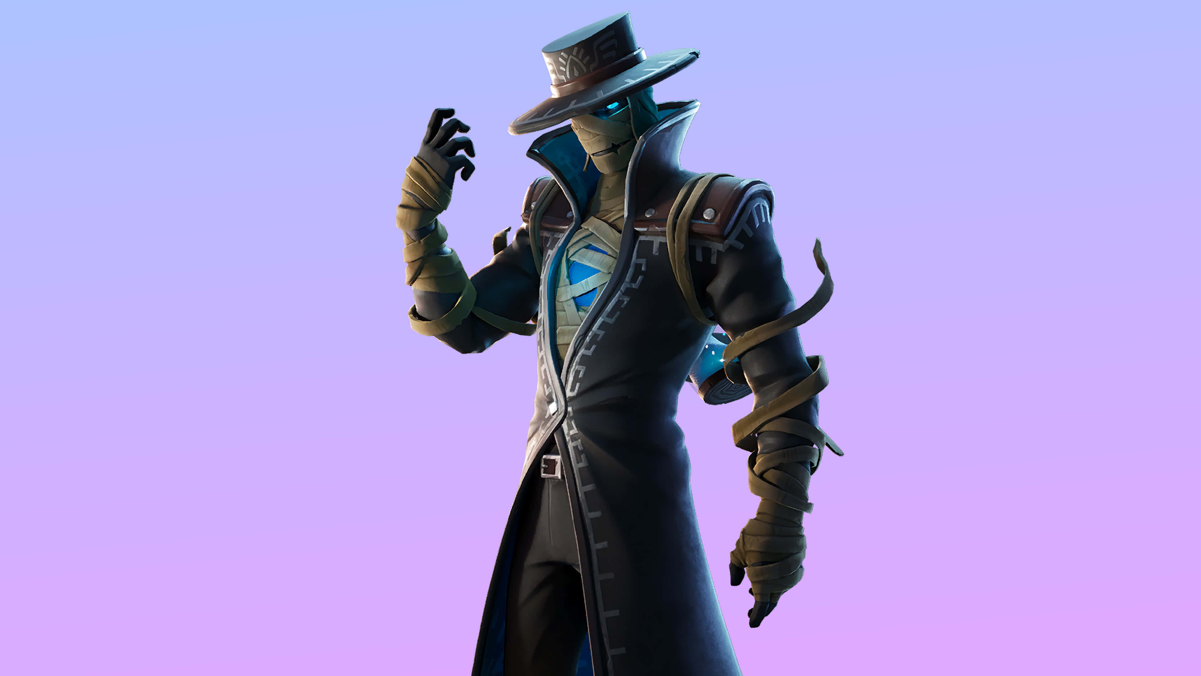 fortnite cryptic curse set wrath skin outfit uhd 4k wallpaper