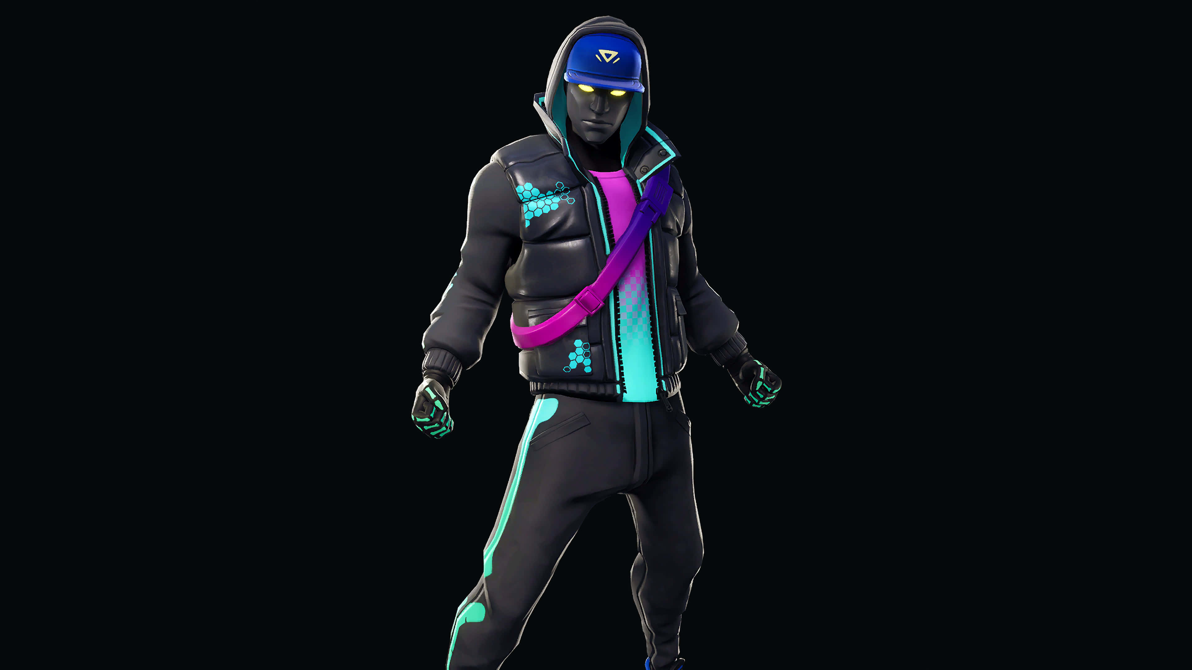 fortnite cryptic set cryptic skin outfit uhd 4k wallpaper