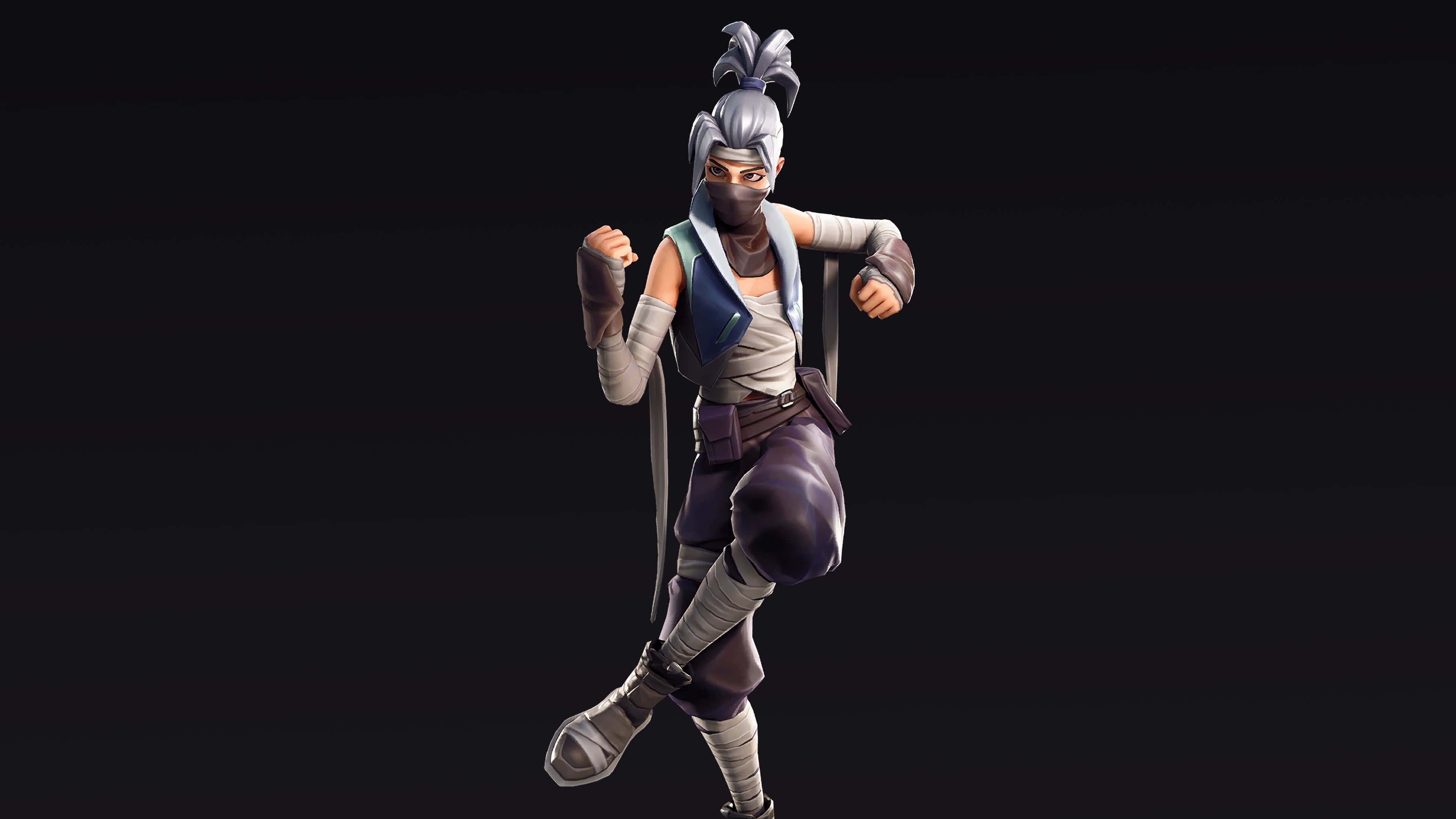 fortnite falcon clan kuno skin outfit uhd 4k wallpaper