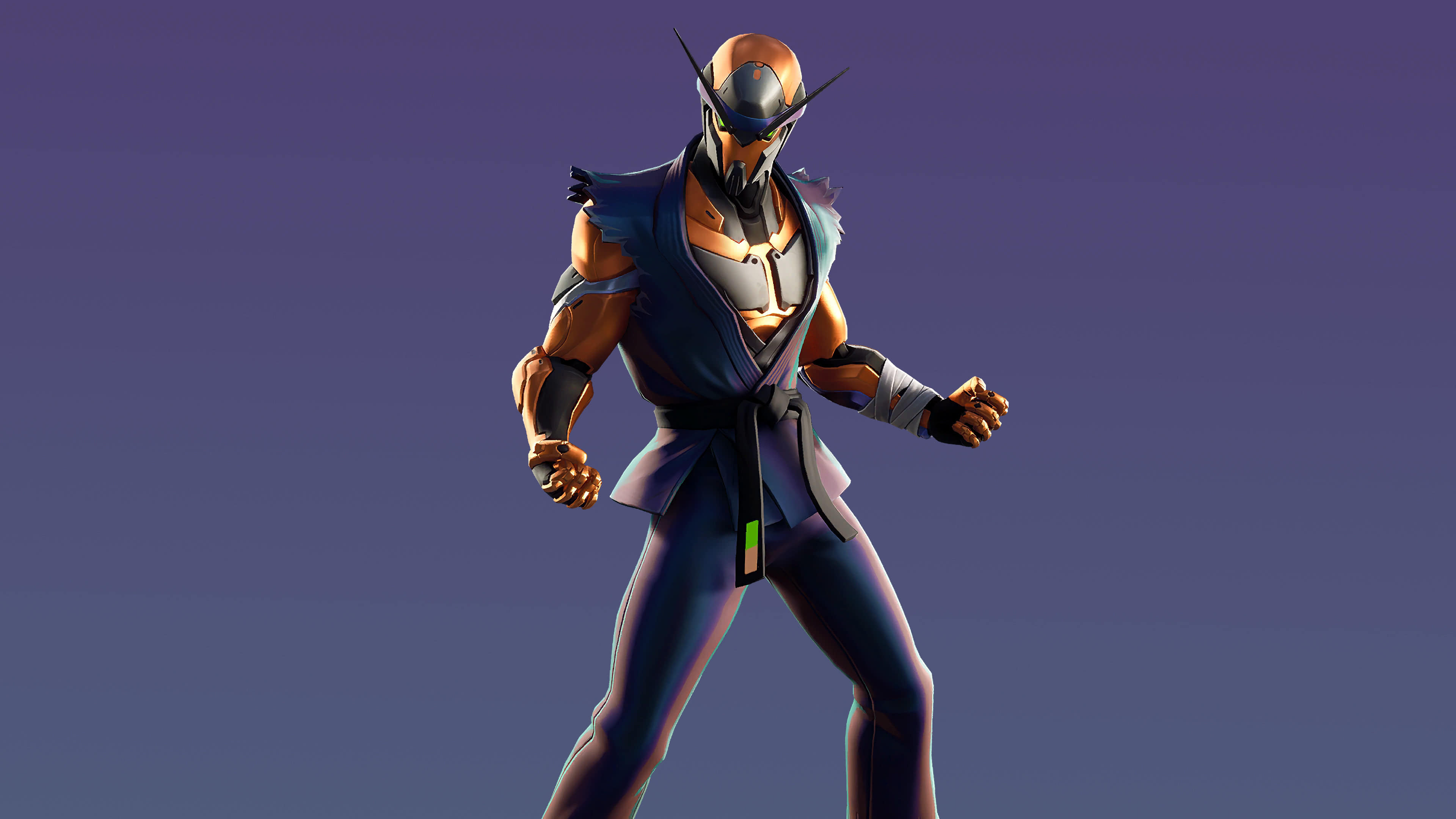fortnite kata tech set copper wasp skin outfit uhd 4k wallpaper