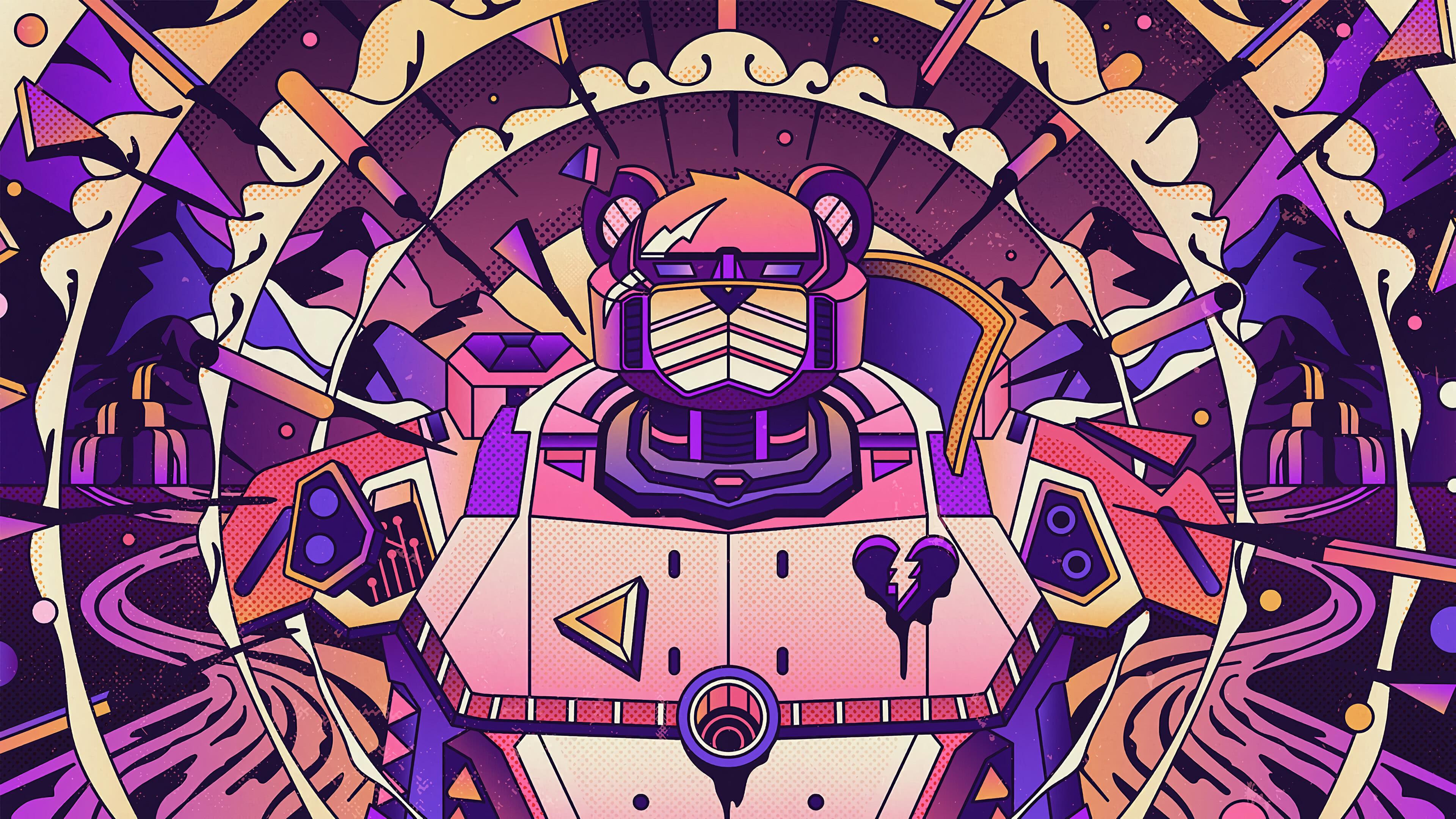 Fortnite Loading Screen Mecha Intensity Uhd 4k Wallpaper Pixelz
