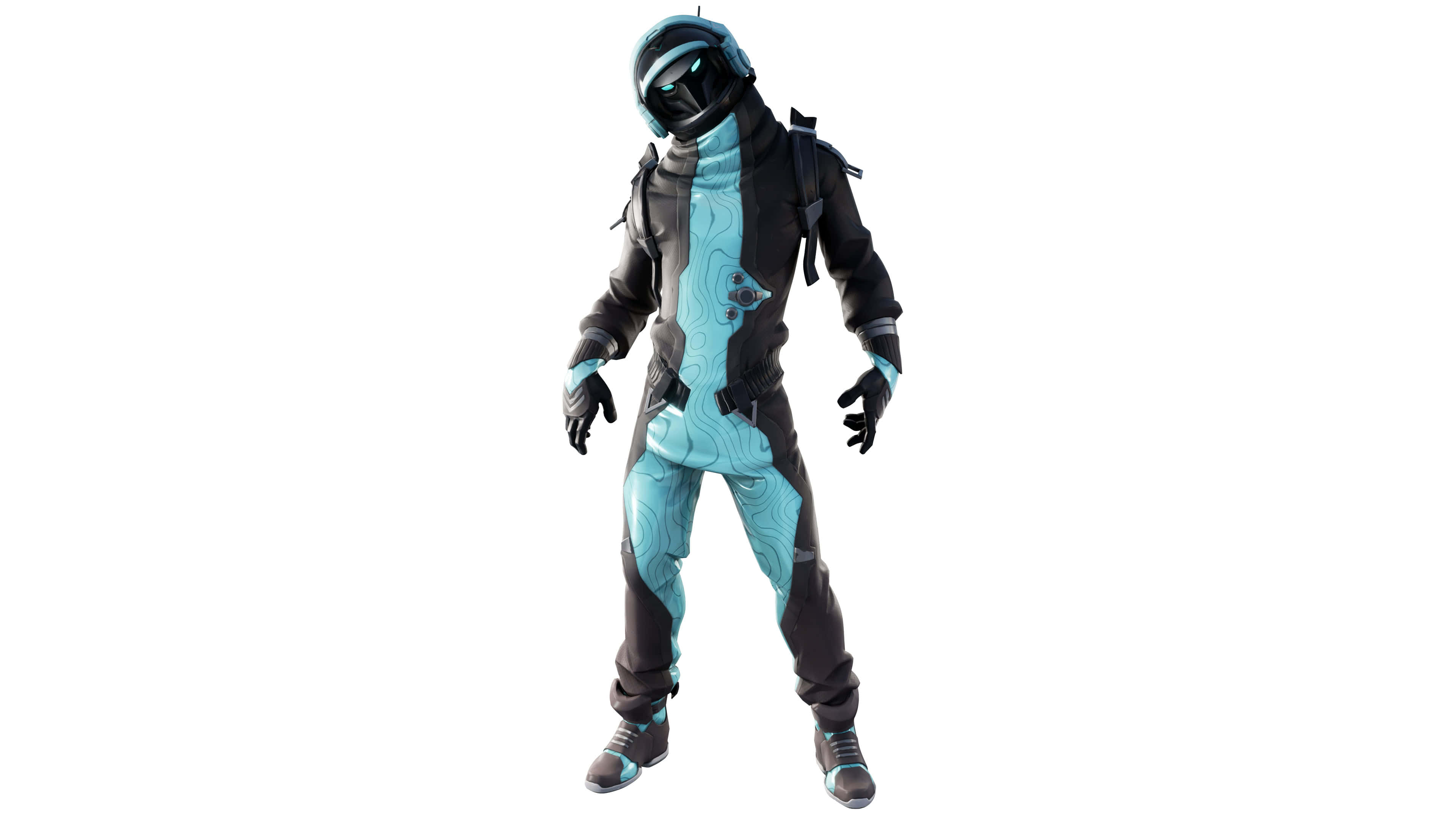 fortnite space explorers set eternal voyager style 2 skin outfit uhd 4k wallpaper