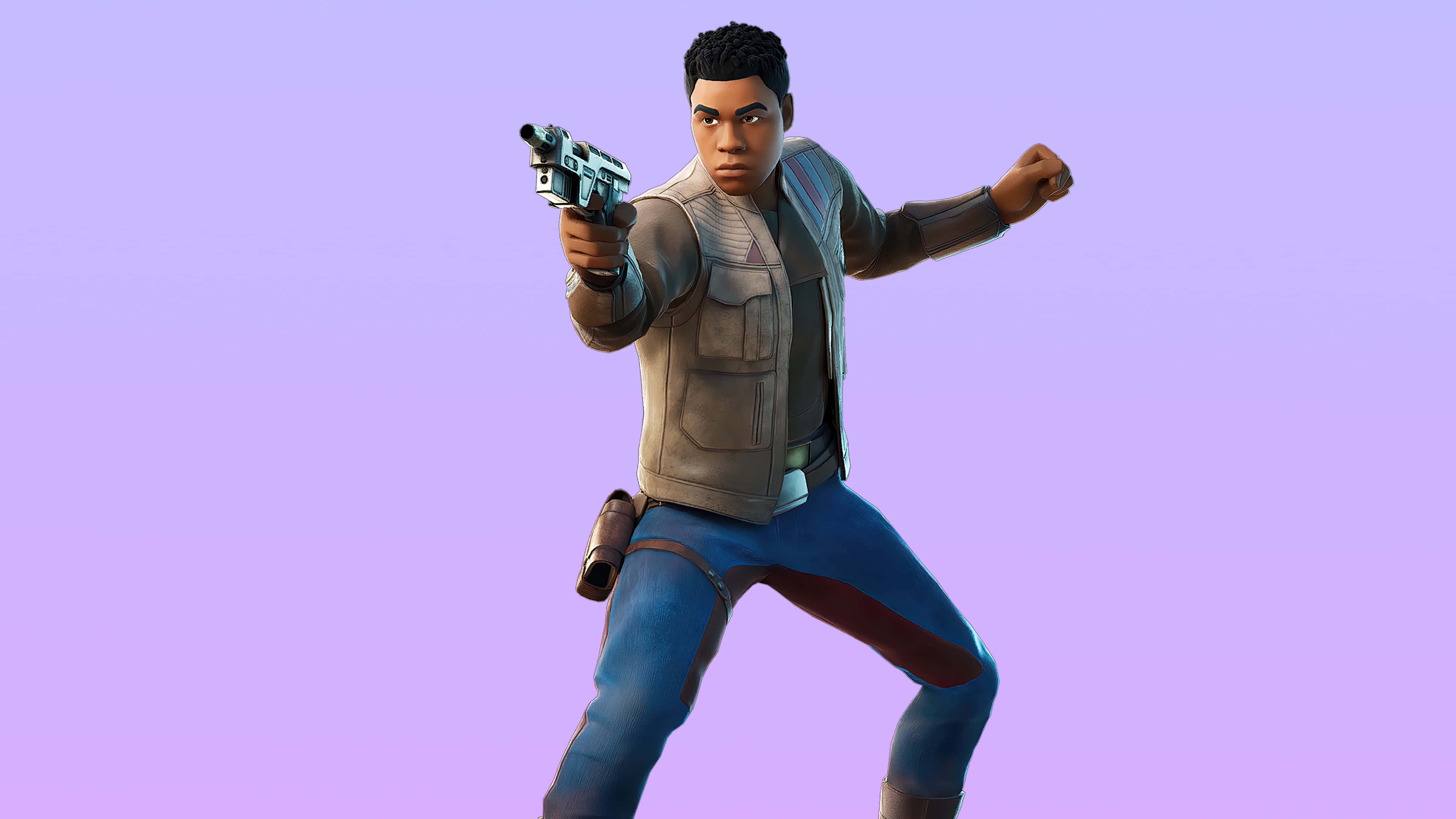 fortnite the new trilogy set finn skin outfit uhd 4k wallpaper