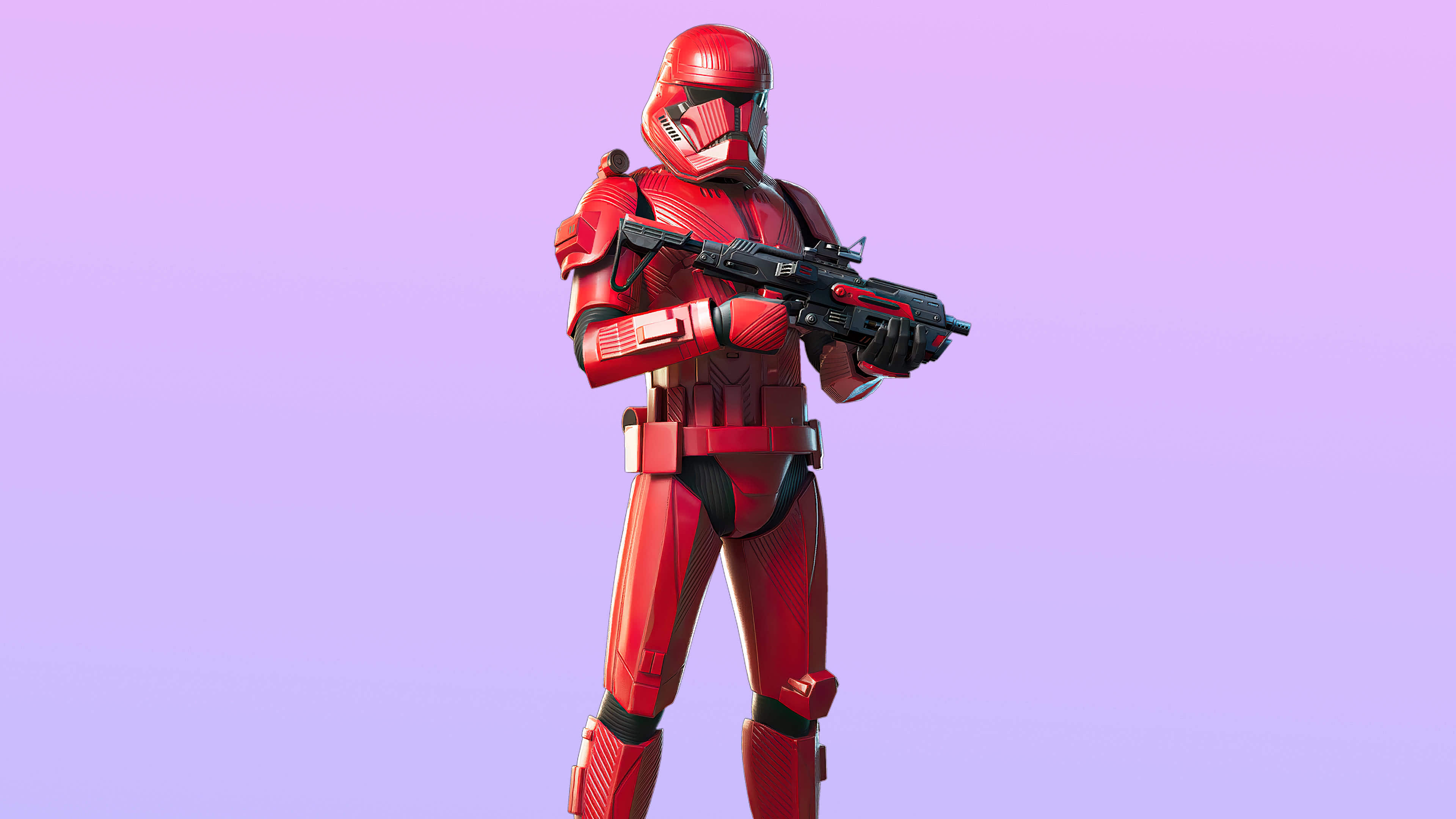 fortnite the new trilogy set sith trooper skin outfit uhd 4k wallpaper