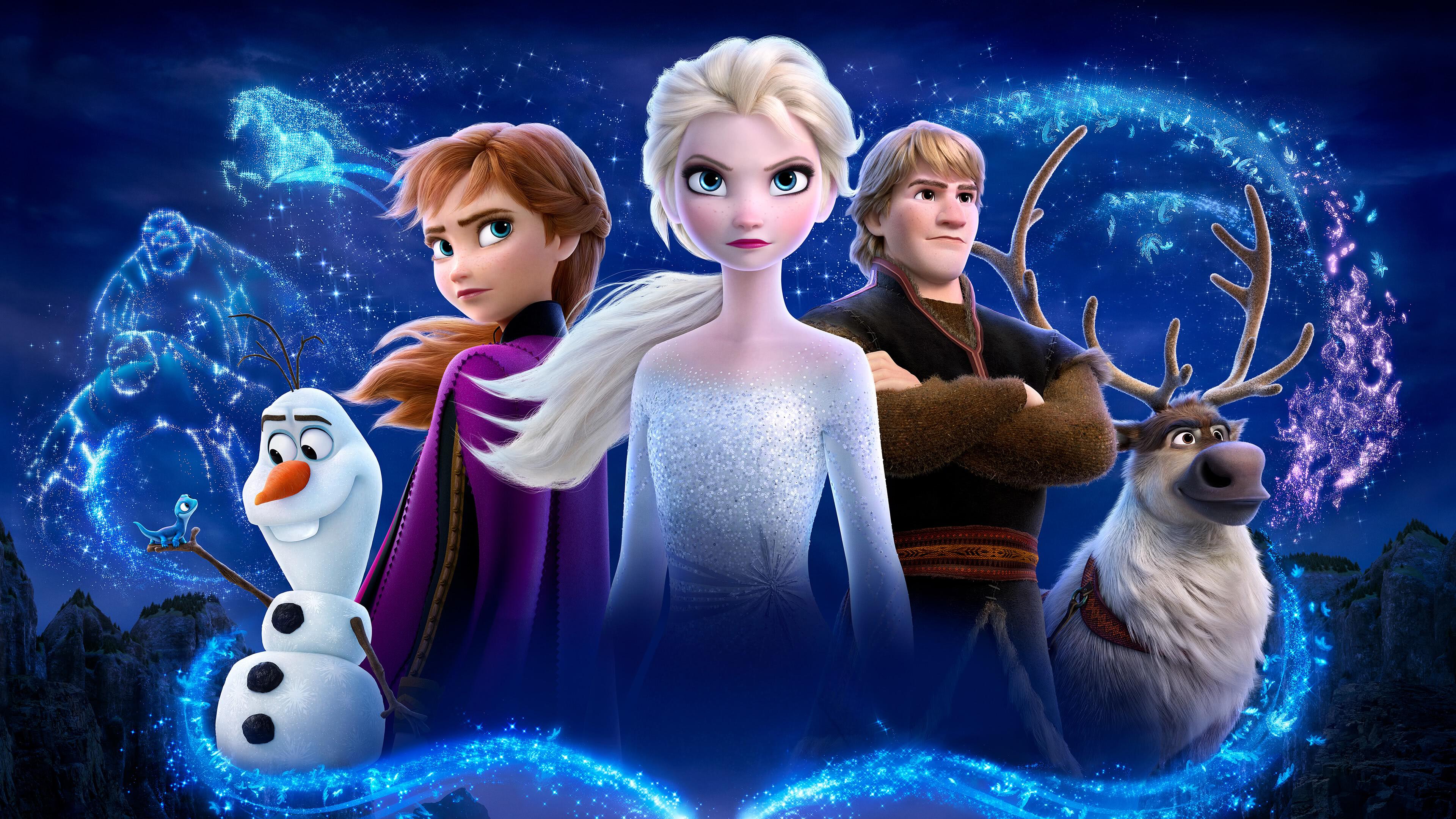 Frozen 2 Characters UHD 4K Wallpaper | Pixelz
