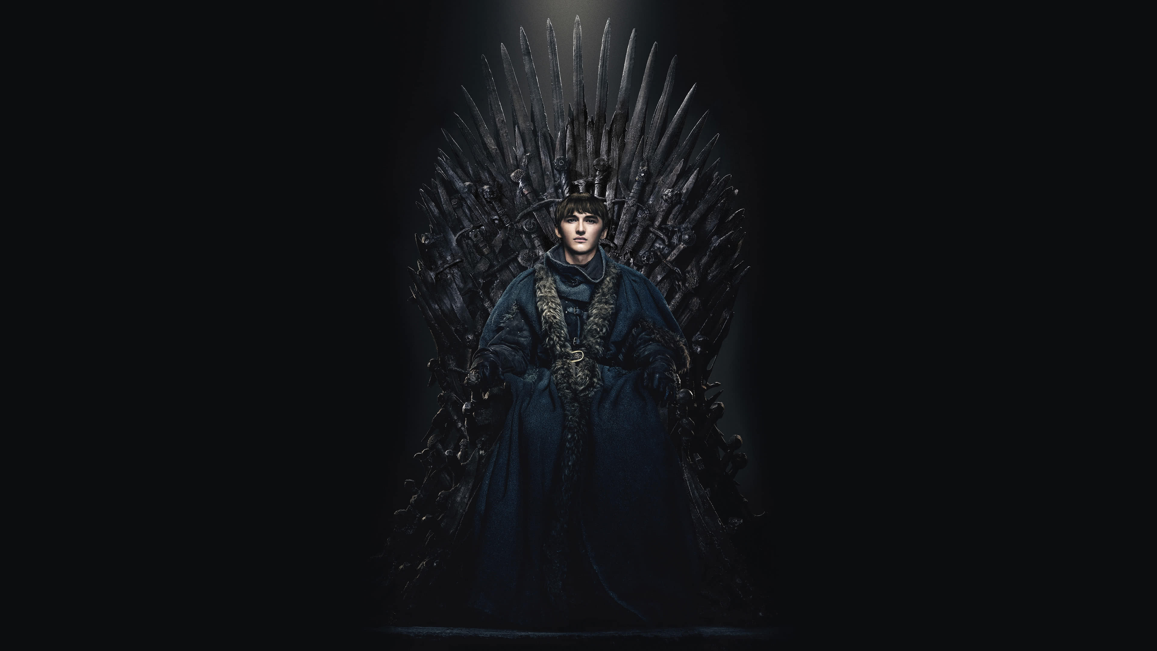 Game Of Thrones Iron Throne Bran Stark Uhd 4k Wallpaper Pixelz