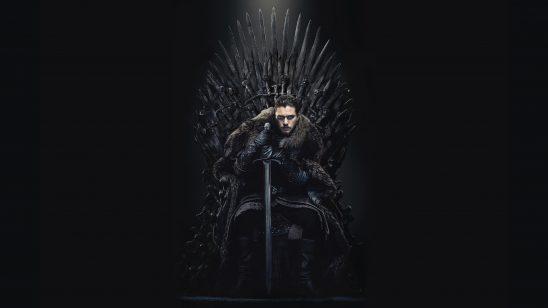game of thrones iron throne jon snow uhd 4k wallpaper