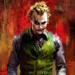 joker heath ledger painting uhd 4k wallpaper