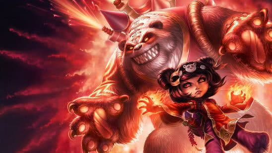 league of legends annie panda uhd 4k wallpaper