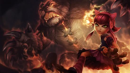 league of legends annie uhd 4k wallpaper