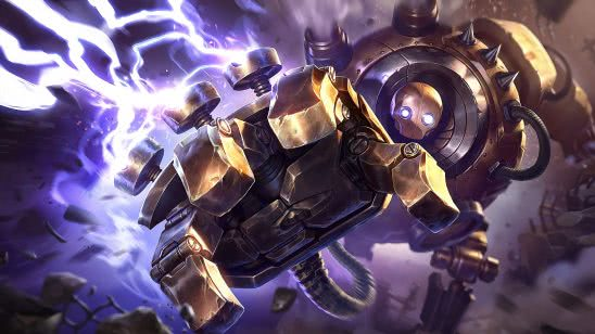 league of legends blitzcrank uhd 4k wallpaper