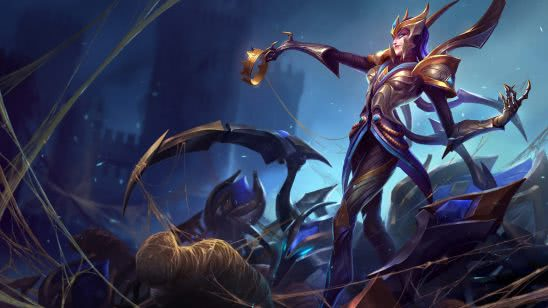 league of legends elise victorious uhd 4k wallpaper