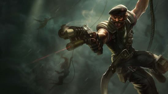 league of legends gangplank special forces uhd 4k wallpaper