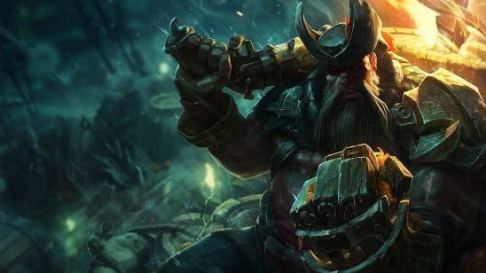 league of legends gangplank uhd 4k wallpaper