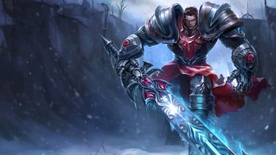 league of legends garen dreadknight uhd 4k wallpaper