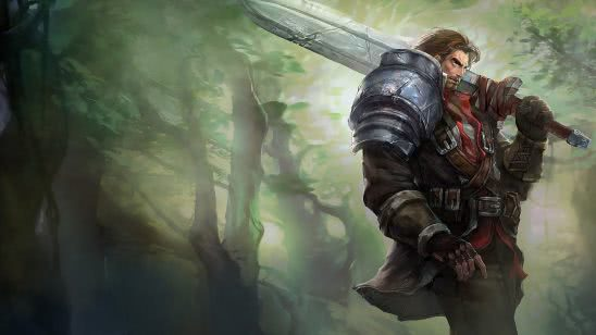 league of legends garen rugged uhd 4k wallpaper