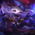 league of legends gnar super galaxy uhd 4k wallpaper