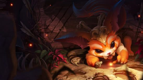 league of legends gnar uhd 4k wallpaper