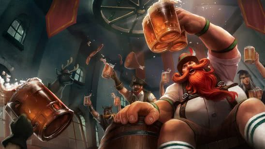 league of legends gragas oktoberfest uhd 4k wallpaper