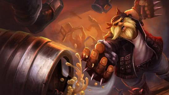 league of legends gragas vandal uhd 4k wallpaper