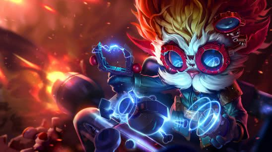league of legends heimerdinger uhd 4k wallpaper