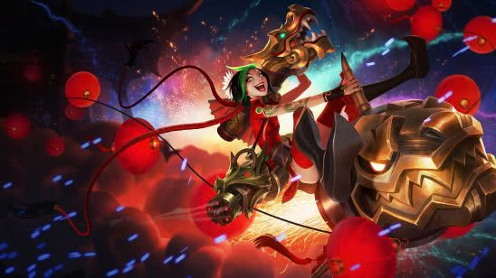 league of legends jinx firecracker uhd 4k wallpaper