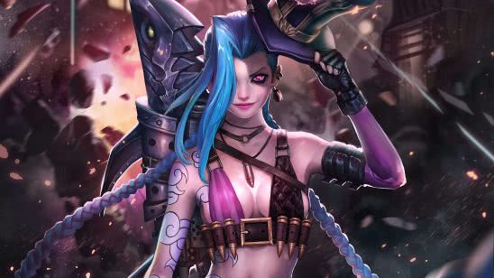 league of legends jinx uhd 4k wallpaper